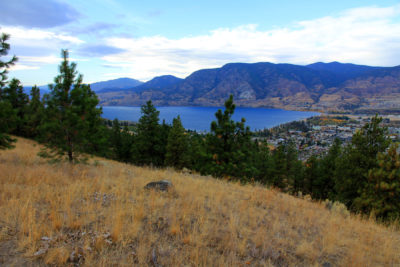 Lake View of the Okanagan in Pentiction at the Bluffs at Skaha