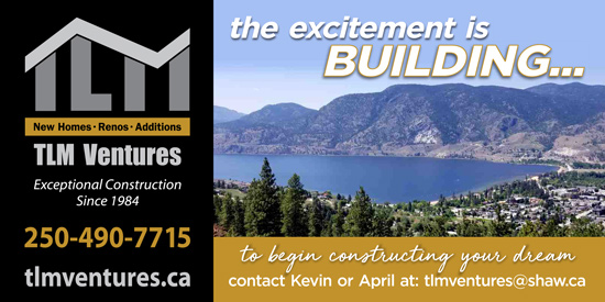 TLM Ventures -- Primary Preferred Builder for the Bluffs at Skaha .